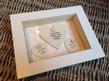 Shabby Personalised Chic Box Frame Gift For Mother Of The Bride. Mum Mom Wedding